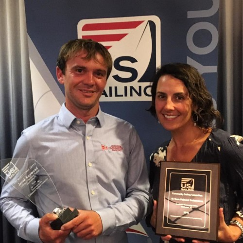 NSPS Community Sailing Award Winners 2017
